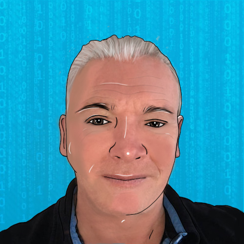 Cartoon image of Steve who works at Trust Networks Ltd